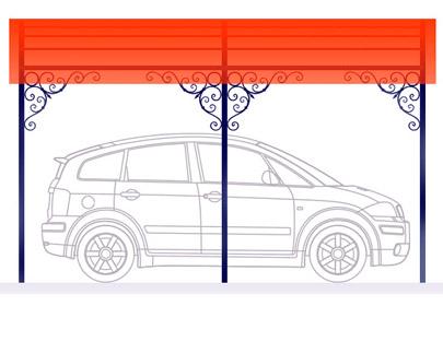 Автомобильные навесы